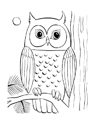 Small Picture Coloring Pages Free Coloring Pages Of Owls Animal Coloring Pages