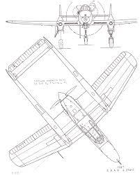 Saab 21 blueprint