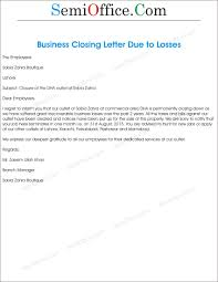 Business Closing Letter Customers Elemental Concept Therefore Office