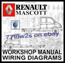 renault master mascott movano van workshop service repair manual renault master mascott movano van workshop service repair manual wiring diagrams