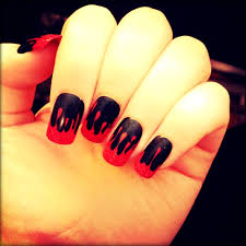 Halloween Nails Boho Chic