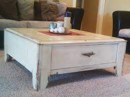 awesome distressed round coffee table with distressed round coffee table