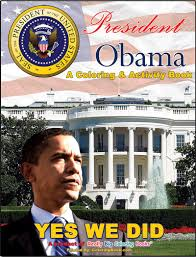 Small Picture Coloring Books Barack Obama President Coloring Book and Pages 2008