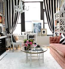 White And Black Curtains For Living Room Black Curtain Holdbacks With Blue Wood Floor Living Room