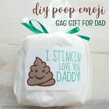 funny father s day gifts diy emoji gag gift for dad