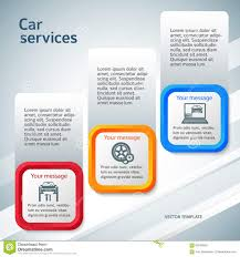 vertical banner auto service page flyer background stock vector vertical banner auto service page flyer background
