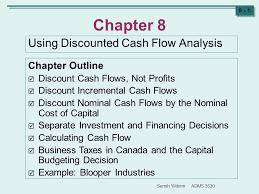 Semih Yildirim Adms Chapter 8 Using Discounted Cash Flow