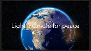 Light The Candles All Around The World Instrumental Light A Candle For Peace