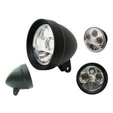 custom chrome bottom mount 5 3 4 headlight for harley 10