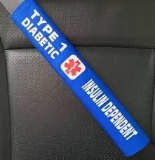 insulin dependent medical alert seat