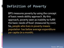 poverty in the culture of poverty
