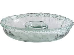 vitro recycled glass dip bowl to expand