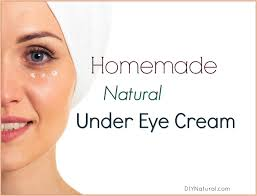 make your own natural under eye cream at home