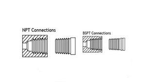 Bsp Npt Comparison Chart The Difference Between Npt And Bsp Seals Www Steeljrv Com