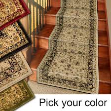 carpet runner com 25u0027 stair runner rugs marash luxury collection stair carpet