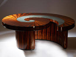braxis spiral coffee table boucher co