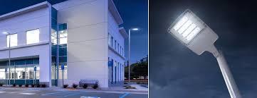 philips gardco ecoform led site area luminaires small