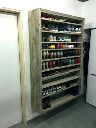 coat and shoe storage coat closet shoe storage giant shoe rack made out of discarded pallets coat shoe storage ideas coat rack shoe storage