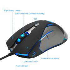 6 Rocketek Oyun Fare Yüksek Hızlı Usb Pc Dizüstü Masaüstü Için Kablolu  Kopya Bilgisayar Oyunu Mouse Düğmeleri- Oyun Faresi \ indirim
