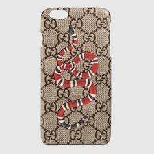 gucci 7 plus. kingsnake print iphone 6 plus case gucci 7 r