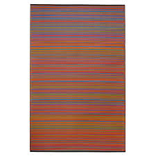 fab habitat woven from recycled plastic indoor outdoor coastal area rug common 6