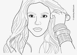 Marvelous Celebrity Coloring Pages Picture Of Famous People Popular