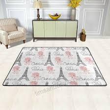paris eiffel tower children area rugs 60 x 39 by deyya home decoration nonslip doormat rugs