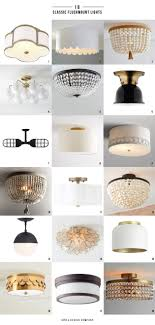 Flush Mount Kitchen Ceiling Light 18 Classic Flushmount Lights 6 Of Which Are In Our New
