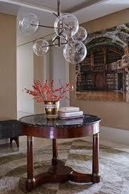 entrance hall pendant lighting. contemporary and traditional hall in a chelsea flat designed by sophie ashby who aimed to create entrance pendant lighting