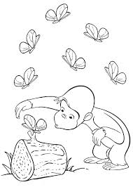 Coloring Pages Curious George Coloring Kids N Pages Of Free