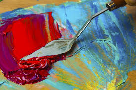everything you need to know to create textured paintings with palette knives