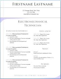 Download Resume Free Free Download Resume Templates For Word Resume