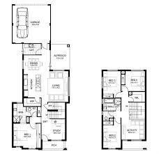 narrow lot double y house designs perth apg homes two plans bri