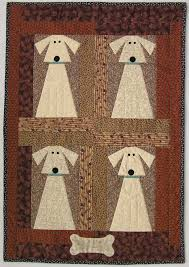 Dog Quilt Patterns Extraordinary Big Dog By Martha P Supnik The Dog Pattern Was Adapted From The