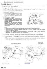 Engine Troubleshooting Chart Pdf Nsxb11038a Pdf Nsx Shop