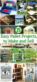 easy to make furniture ideas. Wonderful Easy Pallet Projects To Make And Sell  Furniture Ideas DIY  On Easy To