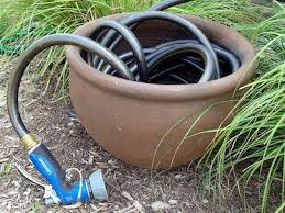 garden hose storage in search of the