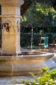 Stroudwater Design Group French Courtyard Fountain In Morning Light Taras Garden