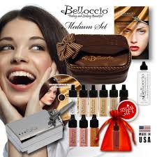 belloccio are a respected and well known brand in the airbrush makeup kit e