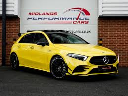 While it certainly serves as one's ticket to the amg world, and the standard features certainly has us interested. Used 2019 Mercedes Benz A35 Premium Plus Amg For Sale U144 Midlands Performance Cars