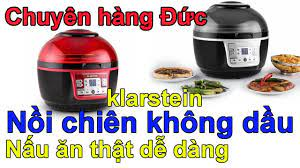 Nồi chiên không dầu Klarstein Turbo 9 lít - Minh Hương - chuyên hàng Đức -  0835191146 - YouTube