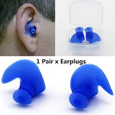 Mounchain 1 Pair Soft <b>Ear</b> Plugs Environmental <b>Silicone Waterproof</b> ...