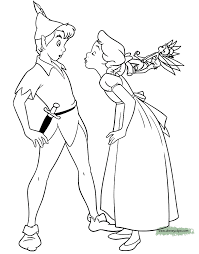 Small Picture Peter Pan Tinker Bell Coloring Pages Disney Coloring Book