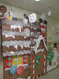 winter wonderland classroom door decorating ideas. Gingerbread House Winter Wonderland Classroom Door Decorations Decorating Ideas A