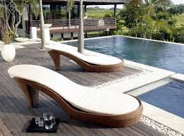 unusual garden furniture. how can individually poly rattan garden furniture look some designers show us create with very unusual shapes the wicker sofa in high heel turn s