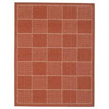 checked flat weave multi purpose kitchen mat rug runner paprika 120 x 160 cm these flat weave rugs feature a tightly woven surface that will not