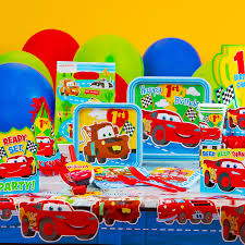 Cars Party Decorations Disney Cars Party Ideas Cars 1st Birthday Party Supplies Liams