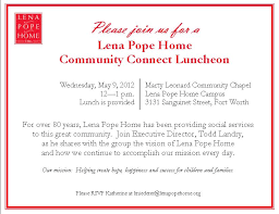 corporate luncheon invitation wording friends spring luncheon children 39 s bereavement center thank you