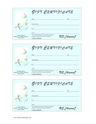 create gift certificate template salon gift certificate template unique free custom gift certificates printable gift ideas