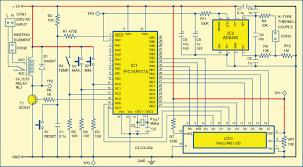 digital temperature controller full circuit diagram explanation digital temperature controller circuit